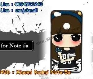 M3436-06 เคสแข็ง Xiaomi Redmi Note 5a ลาย Edsin