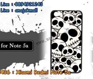 M3436-09 เคสแข็ง Xiaomi Redmi Note 5a ลาย Skull II