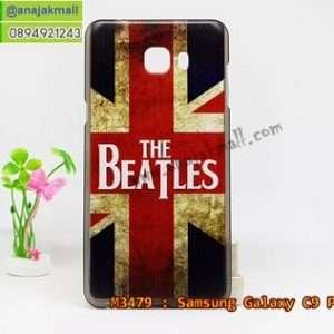 M3479-01 เคสยาง Samsung Galaxy C9 Pro ลาย Beatles