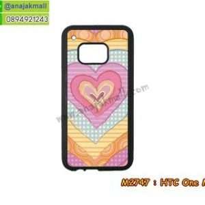 M2747-10 เคสขอบยาง HTC One M9 ลาย HeartBeat