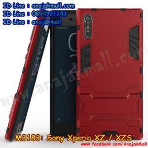 M3183-05 เคสโรบอท Sony Xperia XZ / Xperia XZ S สีแดง
