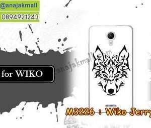 M3226-26 เคสยาง Wiko Jerry 2 ลาย Wolf II