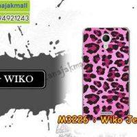 M3226-33 เคสยาง Wiko Jerry 2 ลาย Leopard PK