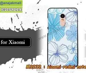 M3232-23 เคสแข็ง Xiaomi Redmi Note 4 ลาย Vector III