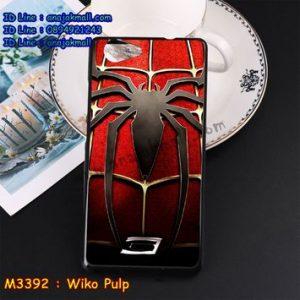 M3392-10 เคสยาง Wiko Pulp ลาย Spider