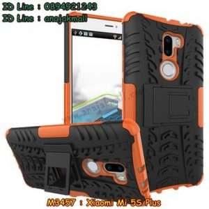 M3457-06 เคสทูโทน Xiaomi Mi5s Plus สีส้ม