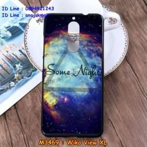 M3469-30 เคสยาง Wiko View XL ลาย Some Nights