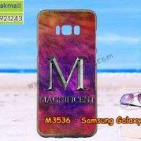 M3536-2เคสยาง Samsung Galaxy S8 Plus ลาย Magnificent
