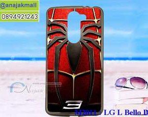 M2011-08 เคสยาง LG L Bello Dual ลาย Spider