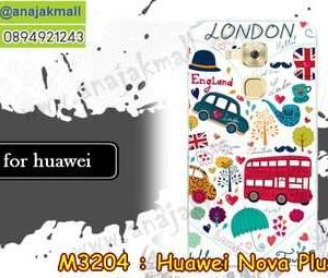 M3204-17 เคสแข็ง Huawei Nova Plus ลาย London