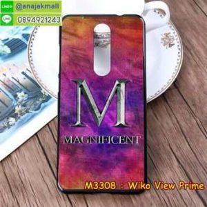 M3308-19 เคสยาง Wiko View Prime ลาย Magnificent