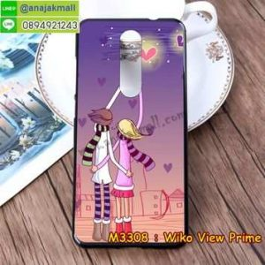 M3308-23 เคสยาง Wiko View Prime ลาย Forever II