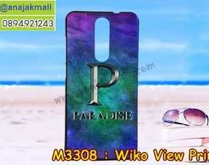 M3308-27 เคสยาง Wiko View Prime ลาย Paradise