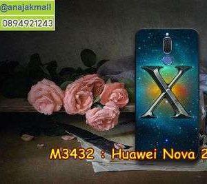 M3432-25 เคสยาง Huawei Nova 2i ลาย Super X