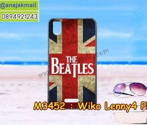 M3452-33 เคสยาง Wiko Lenny4 Plus ลาย Beatles