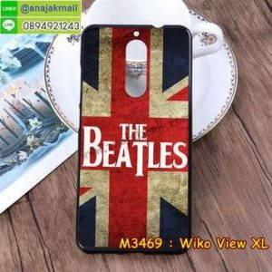 M3469-29 เคสยาง Wiko View XL ลาย Beatles