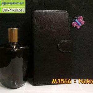 M3566-02 เคสฝาพับไดอารี่ Nokia 5 สีดำ