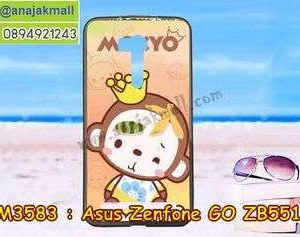M3583-05 เคสยาง Asus Zenfone GO-ZB551KL ลาย Mokyo