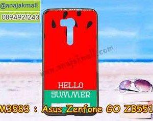 M3583-06 เคสยาง Asus Zenfone GO-ZB551KL ลาย Summer 01