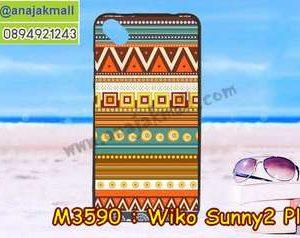 M3590-08 เคสยาง Wiko Sunny 2 Plus ลาย Graphic II