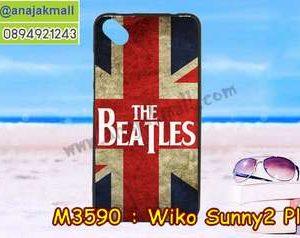 M3590-15 เคสยาง Wiko Sunny 2 Plus ลาย Beatles
