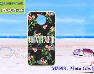 M3598-06 เคสแข็ง Moto G5s Plus ลาย Flower X01
