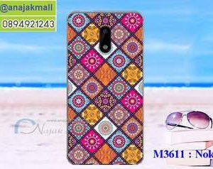 M3611-11 เคสแข็ง Nokia 6 ลาย Sin X01