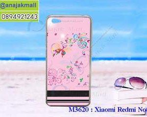 M3620-04 เคสแข็ง Xiaomi Redmi Note 5a ลาย BB Butterfly