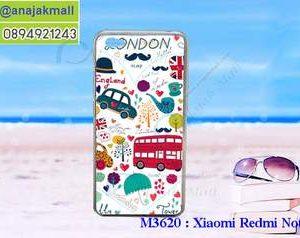 M3620-07 เคสแข็ง Xiaomi Redmi Note 5a ลาย London