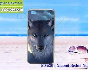 M3620-09 เคสแข็ง Xiaomi Redmi Note 5a ลาย Wolf