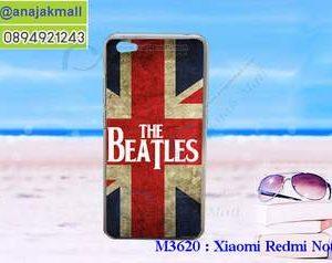 M3620-13 เคสแข็ง Xiaomi Redmi Note 5a ลาย Beatles