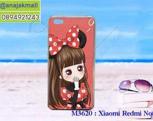 M3620-17 เคสแข็ง Xiaomi Redmi Note 5a ลาย Nikibi