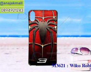 M3621-06 เคสยาง Wiko Robby 2 ลาย Spider