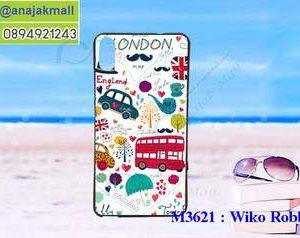 M3621-07 เคสยาง Wiko Robby 2 ลาย London