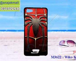 M3622-03 เคสยาง Wiko Fever ลาย Spider