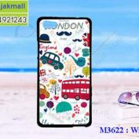 M3622-04 เคสยาง Wiko Fever ลาย London