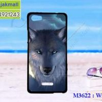 M3622-05 เคสยาง Wiko Fever ลาย Wolf