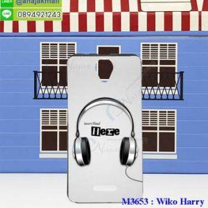 M3653-04 เคสยาง Wiko Harry ลาย Music