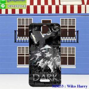 M3653-07 เคสยาง Wiko Harry ลาย True Dark X01