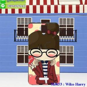 M3653-10 เคสยาง Wiko Harry ลาย Hi Girl