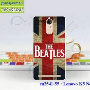M2541-55 เคสแข็ง Lenovo K5 Note ลาย Beatles