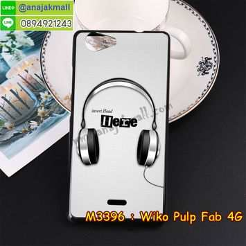 M3396-09 เคสยาง Wiko Pulp Fab 4G ลาย Music