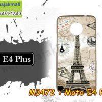 M3472-13 เคสยาง Moto E4 Plus ลายหอไอเฟล