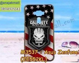 M3537-03 เคสยาง Asus Zenfone 3-ZE552KL ลาย Black OPS