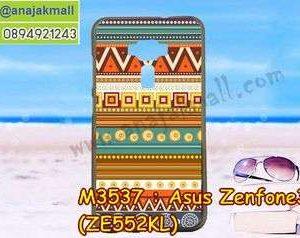 M3537-04 เคสยาง Asus Zenfone 3-ZE552KL ลาย Graphic II