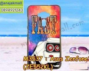 M3537-06 เคสยาง Asus Zenfone 3-ZE552KL ลาย Fast 01