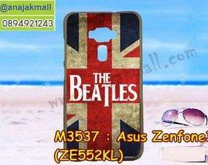 M3537-07 เคสยาง Asus Zenfone 3-ZE552KL ลาย Beatles