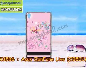 M3586-20 เคสแข็ง Asus Zenfone Live-ZB501KL ลาย BB Butterfly