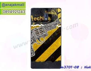 M3701-08 เคสแข็ง Nokia 3 ลาย Techno X01