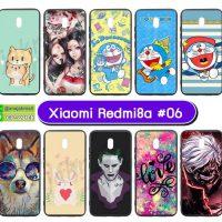 M5514-S06 เคส Xiaomi Redmi8a พิมพ์ลายการ์ตูน Set06 (เลือกลาย)